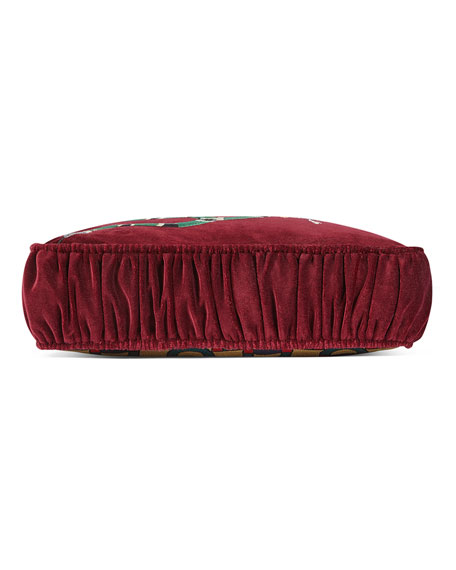 Square Velvet Kingsnake Cushion