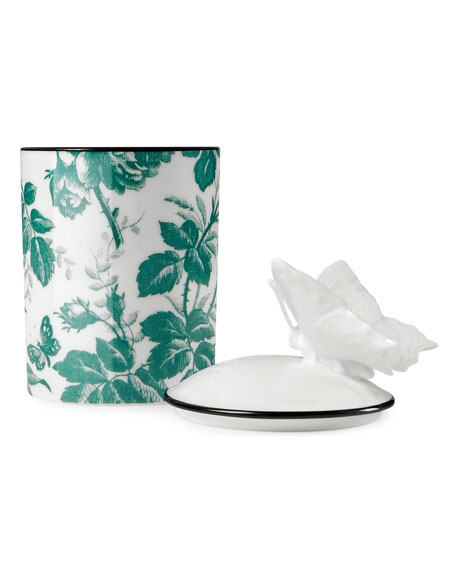Herbarium Candle, Green