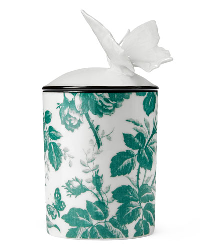 Herbarium Candle  Green