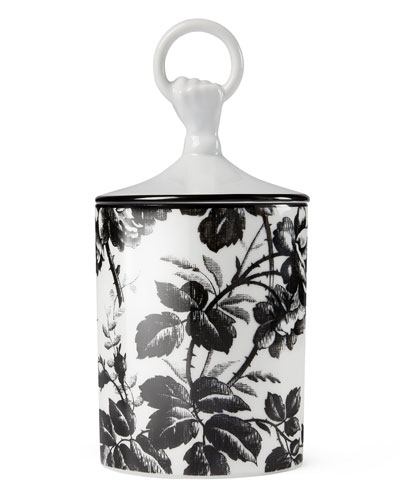 Herbarium Candle  Black
