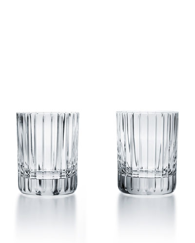 Harmonie Crystal Triple Old-Fashioned Glasses, Set of Two