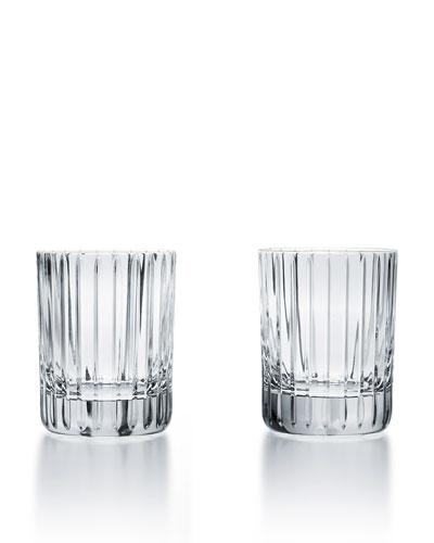 Harmonie Crystal Triple Old-Fashioned Glasses, Set of Two