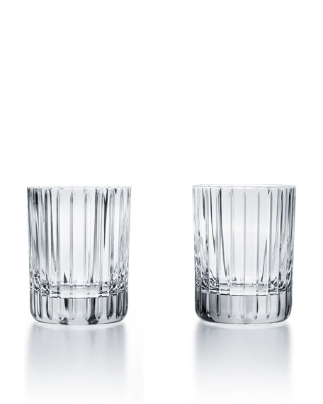 Baccarat Harmonie Crystal Triple Old-Fashioned Glasses, Set of