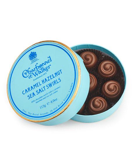 Charbonnel Et Walker Caramel Hazelnut Sea Salt Swirls