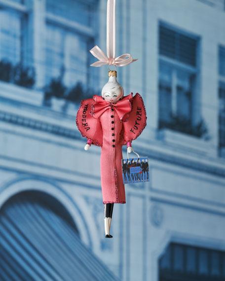 2017 Linda in Pink Coat Ornament