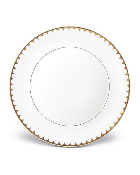 L'Objet Aegean Filet Gold Dinner Plate
