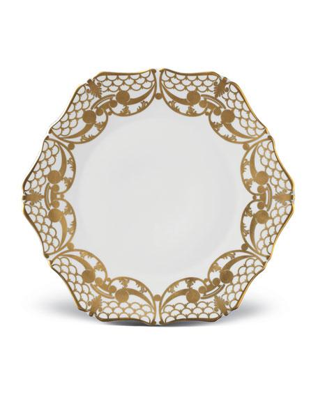 Alencon Gold Salad Plate