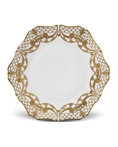 Alencon Gold Bread and Butter Plate