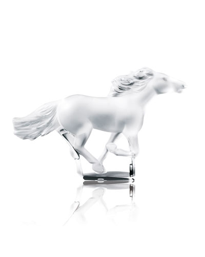 Kazak Horse Sculpture - Clear