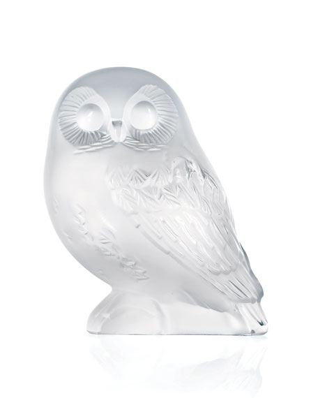 """Shivers"" Crystal Owl Figure"