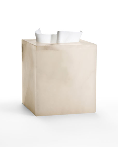 Labrazel Alisa Alabaster Tissue Cover, Cream