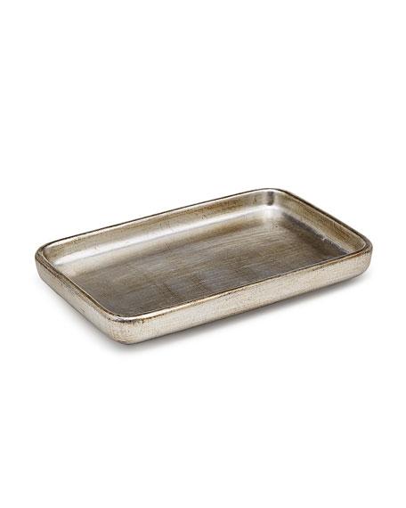 Labrazel Ava Amenity Tray, Silver