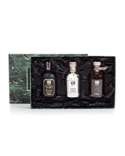 Trio (Silver Cedar, Champagne, and Sandalwood Amber), 3.4 oz./ 100 mL