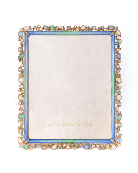 """Oceana Bejeweled Picture Frame, 8"""" x 10"""""""