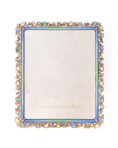 Jay Strongwater Oceana Bejeweled Frame, 8