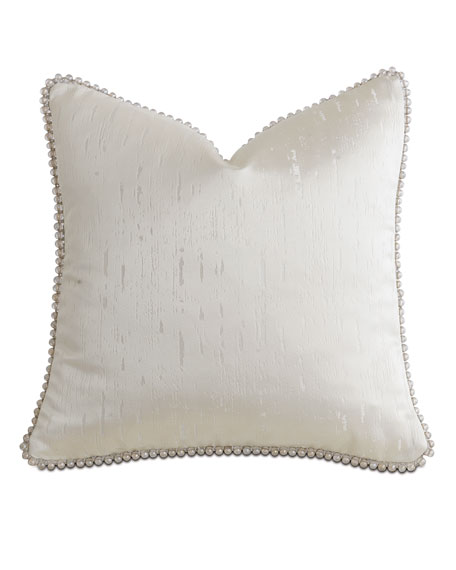 Eastern Accents Watermill Taupe Decorative Pillow, 18