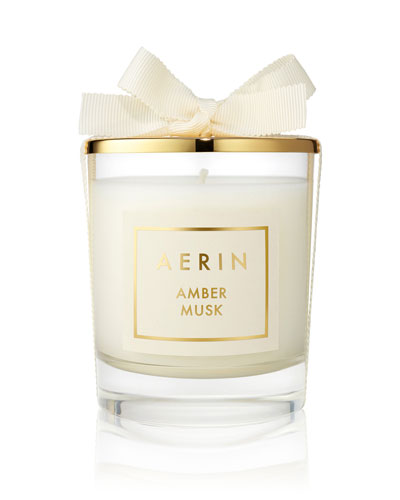 Limited Edition Amber Musk Candle  7 oz. / 200 g