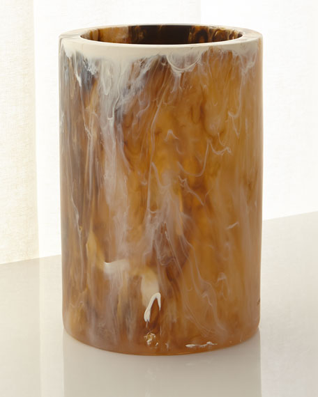Large Hand-Poured Column Vase
