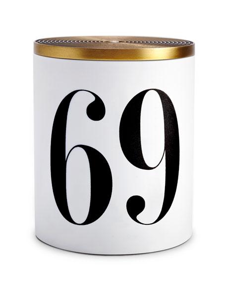 69 Single Wick Candle