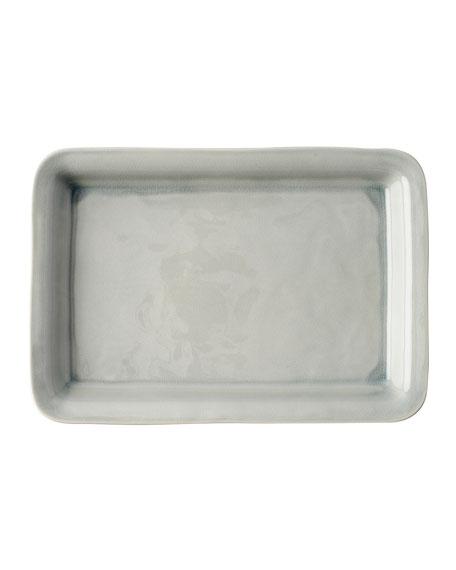 "Puro Mist Grey Crackle 16"" Tray"