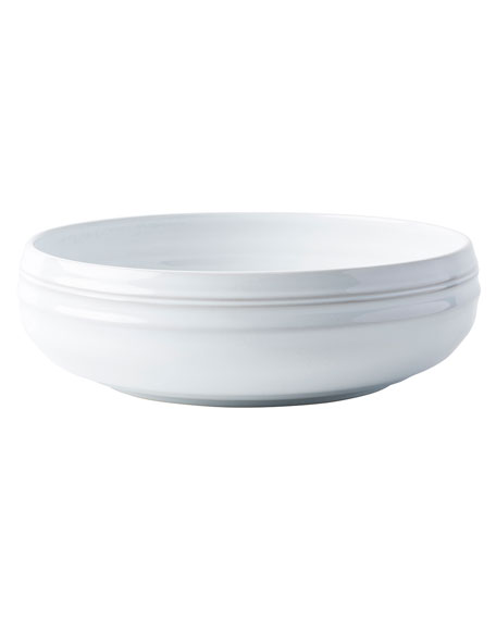 Bilbao White Truffle Serving Bowl, 12""