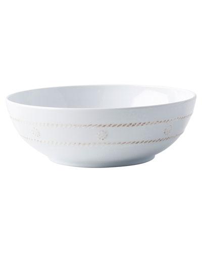 Berry & Thread Melamine Whitewash Coupe Bowl