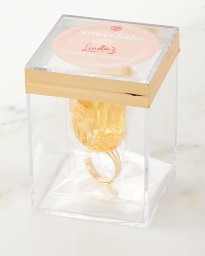 Candy Cocktail Ring in Jewelry Box
