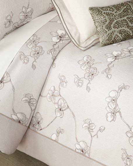 Michael Aram Orchid Full/Queen Duvet