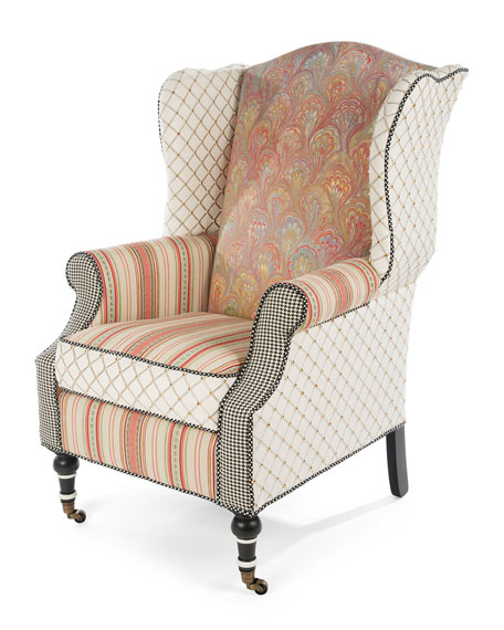Image 1 of 1: Patisserie Wing Chair