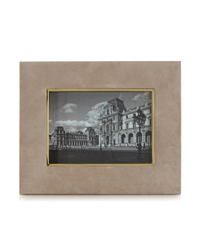 DUNE Valentina Suede Picture Frame  5 x 7
