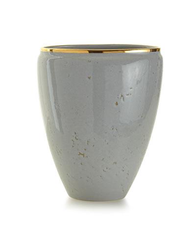 Paros Medium Textured Ceramic Vase