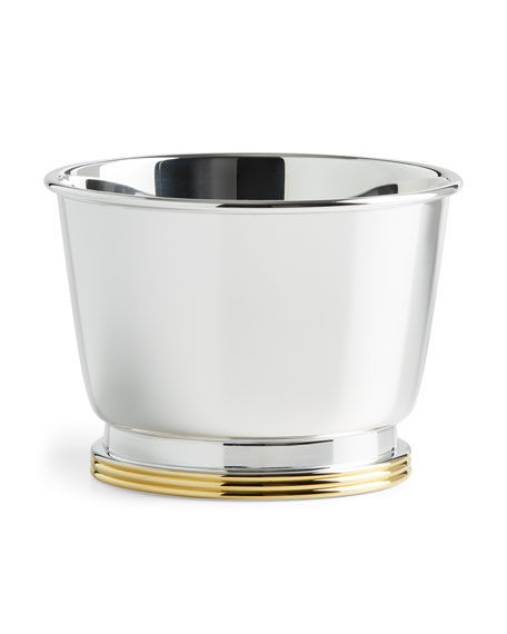 Kipton Large Silver-Plated Nut Bowl