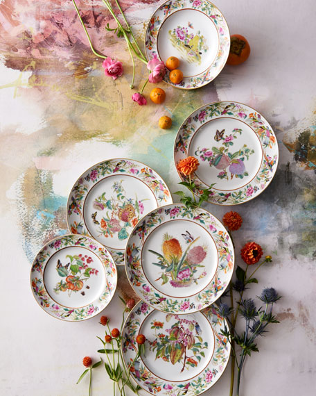Paco Real Flower Soup Plate
