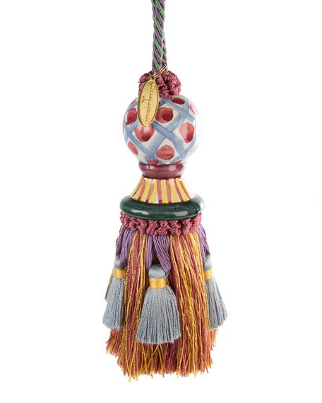 Image 1 of 1: Ceramic-Head Tassel