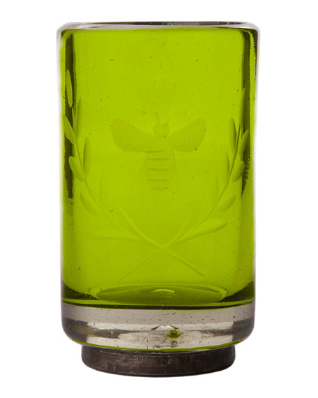 Wee-Bee Vessel Shot Glass, Green