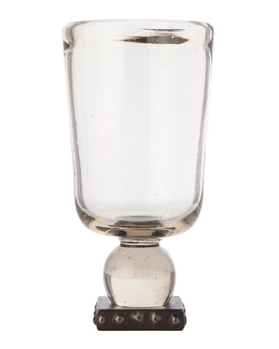 Ramo Oversize Goblet, Clear