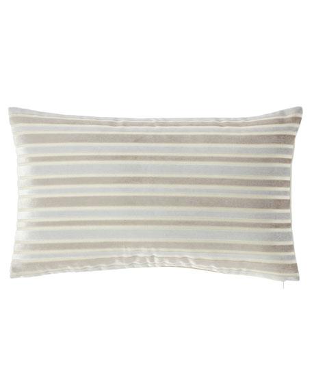 Jane Wilner Designs Le Monte Stripe Rectangular Pillow