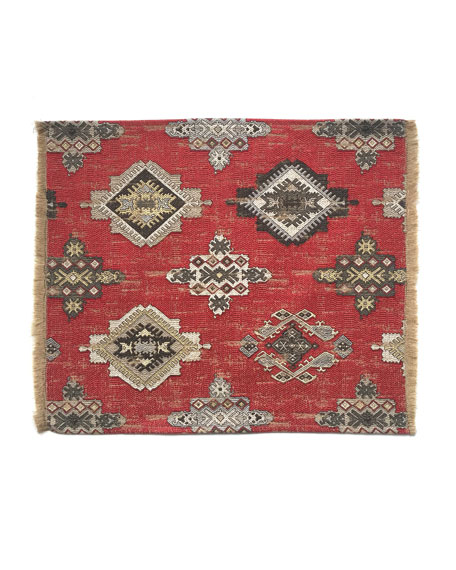 Konya Placemat, Crimson