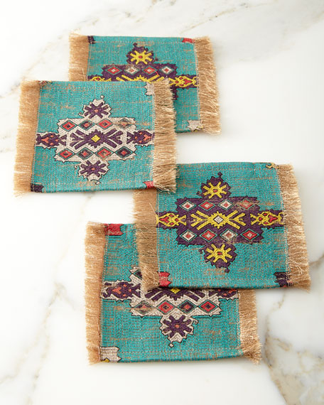 Konya Coaster, Blue Pattern