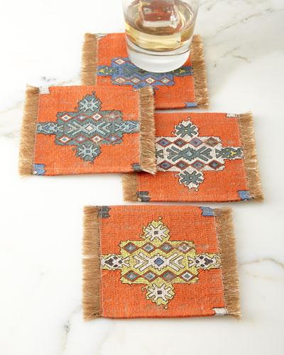 Konya Coaster, Orange Pattern