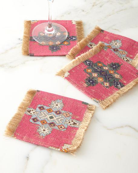 Konya Coaster, Pink Pattern