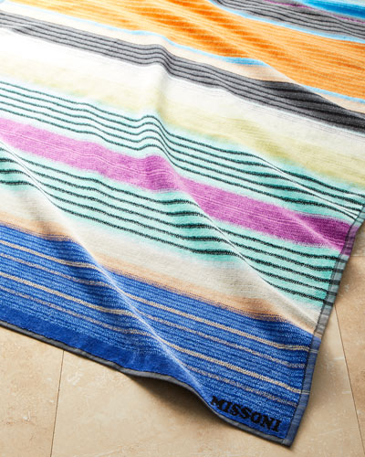 Viviette Beach Towel