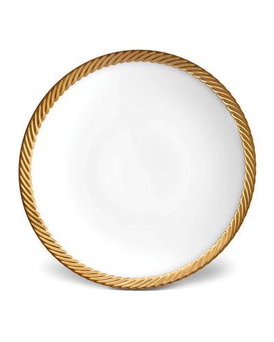 Corde Gold-Rim Soup Bowl