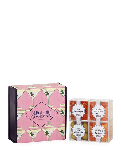 Bergdorf Goodman Pink Martini 4-Piece Bento Box