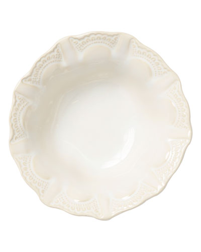 Incanto Stone Lace Cereal Bowl  Linen