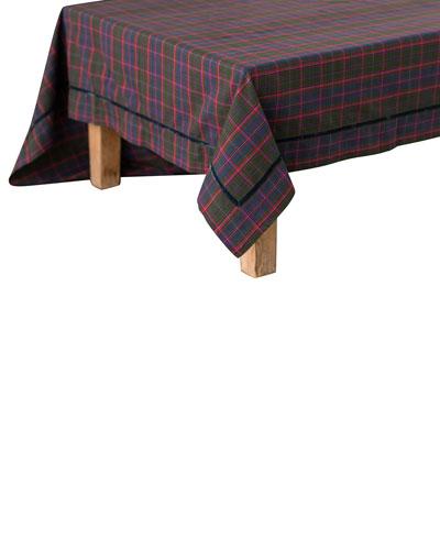 Chalet Tartan Tablecloth, 70