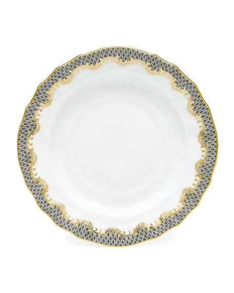 Herend Fishscale Bread and Butter Plate