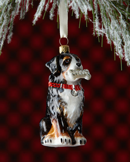 Joy To The World Collectibles Bernese Mountain Dog Christmas Ornament