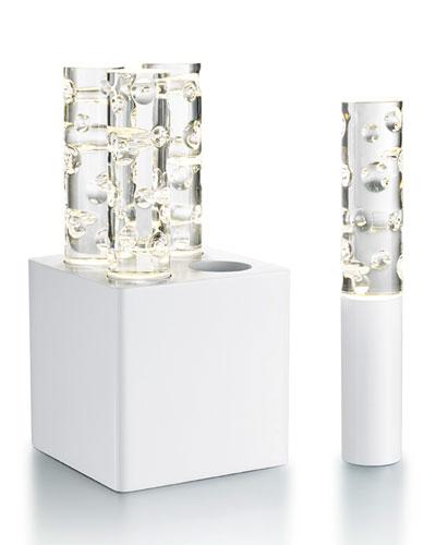 Jallum Pontil 1-Light, White