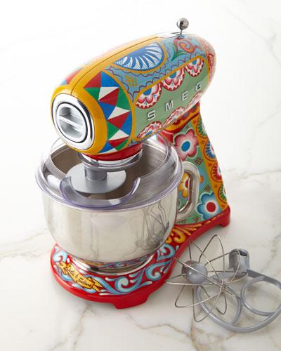 Dolce Gabbana x SMEG Sicily Is My Love Stand Mixer